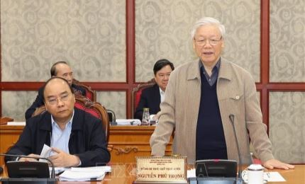 Politburo discusses finalisation of National Party Congress documents